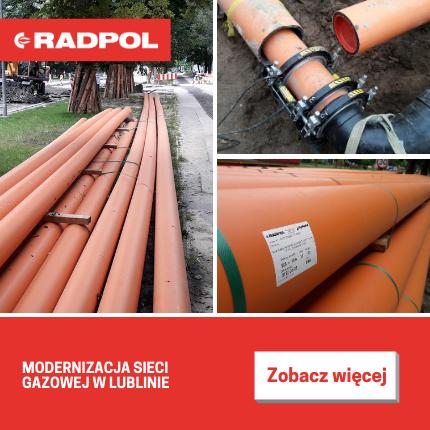 RADPOL - rury RC MULTIsafe®2L do gazu DN63-DN450